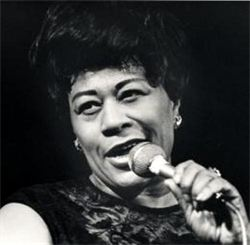 HAPPY BIRTHDAY APRIL 25TH TO JAZZ VOCALIST ELLA FITZGERALD. RIPPITOPEN.COM.